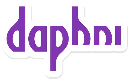 Daphni sticker