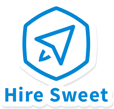 Hiresweet sticker